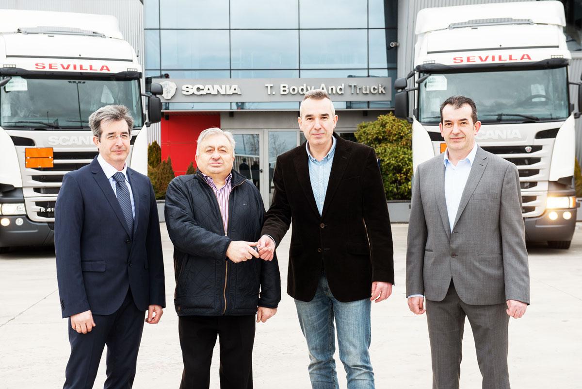 Entrega llaves Scania
